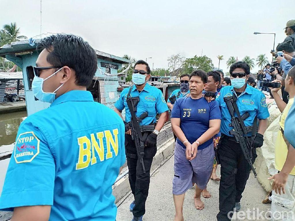 Ini Ibrahim, Anggota DPRD F-NasDem Bandar Sabu 105 Kg Asal Sumut