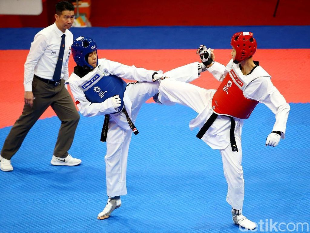 Korsel Juara Umum Cabor Taekwondo Asian Games 2018