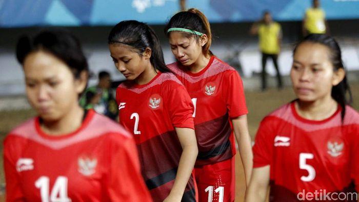 Timnas Putri Indonesia mundur dari Piala AFF U-15 karena bermasalah dengan anggaran. (dok. Foto: Rachman Haryanto/detikSport)