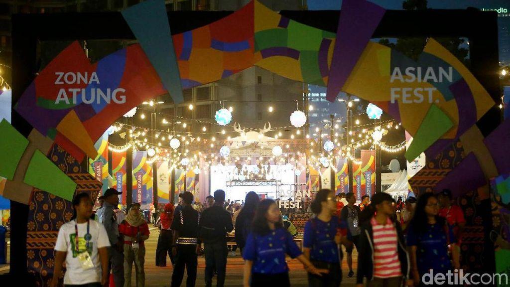 Serunya Euforia Asian Games di GBK