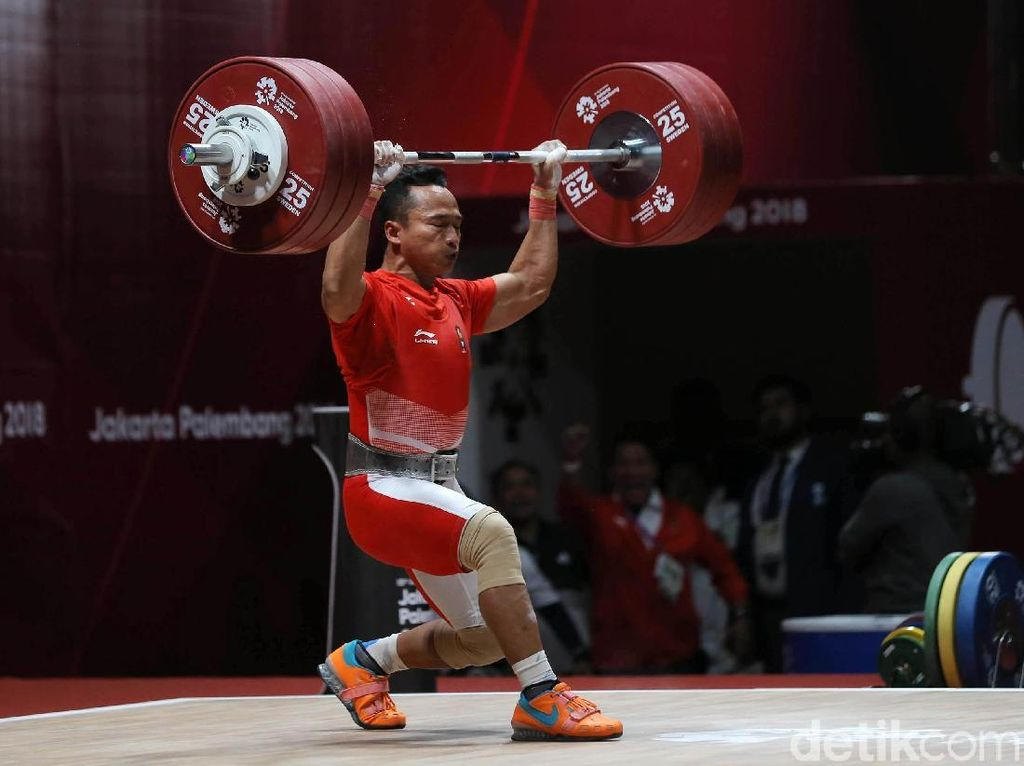 Kalah Saing dengan Lifter Junior, Triyatno Tak Tampil di SEA Games 2019
