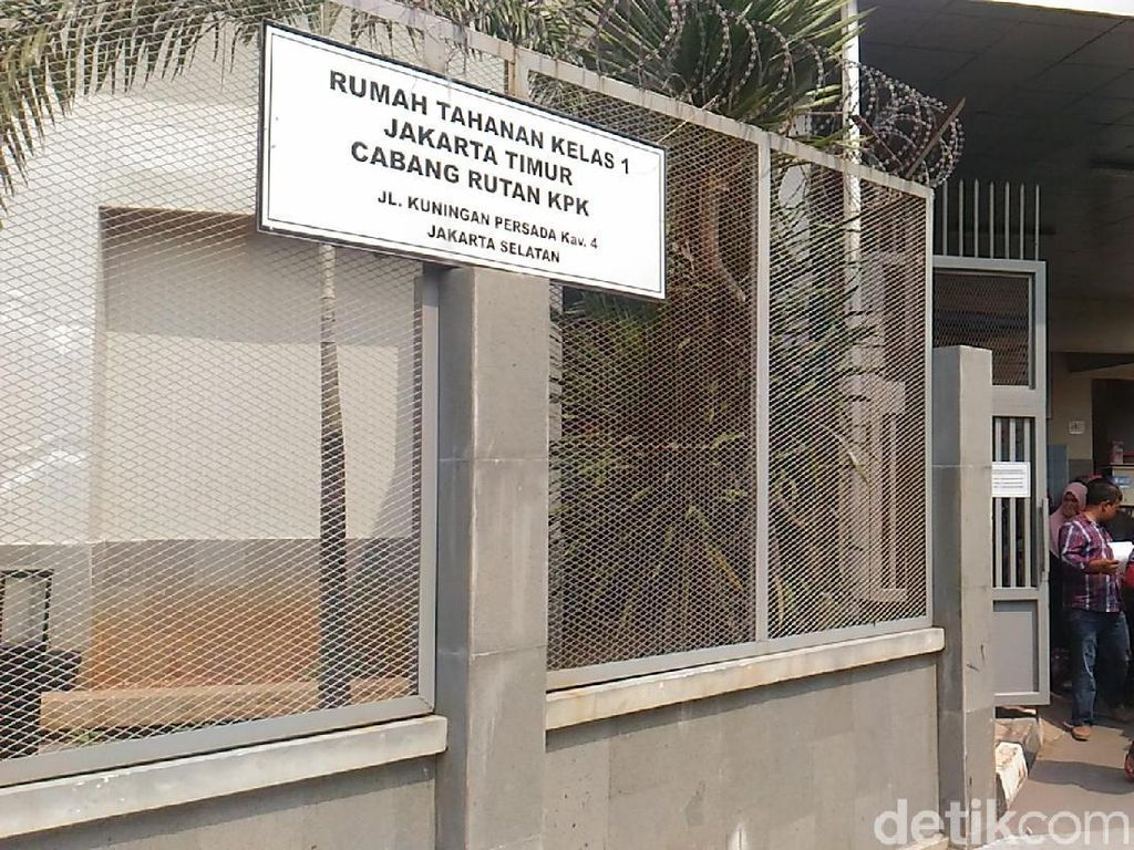 Potret Rutan KPK Dipenuhi Keluarga Besuk Tahanan