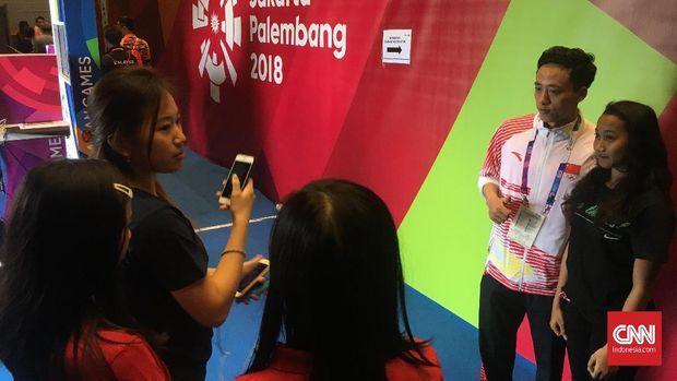 Atlet Wushu China Diserbu Fan Wanita Indonesia di Asian Games