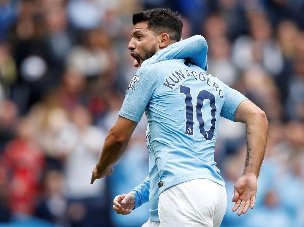Aguero, Pemain Asing Terbaik Premier League Sepanjang Masa