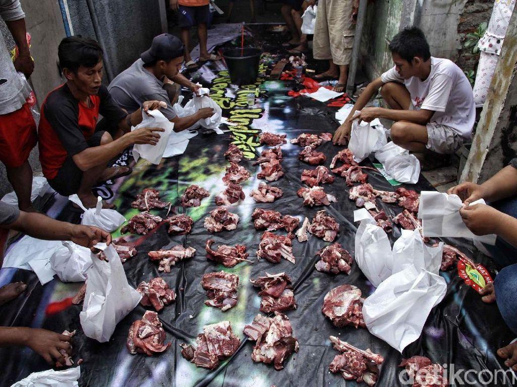 Tata Cara Pembagian Daging Kurban Sesuai Hadist Nabi