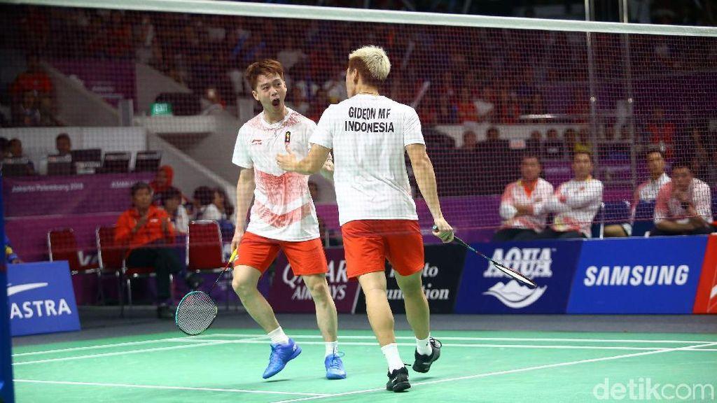 Kevin/Marcus Kalahkan Li Junhui/Liu Yuchen