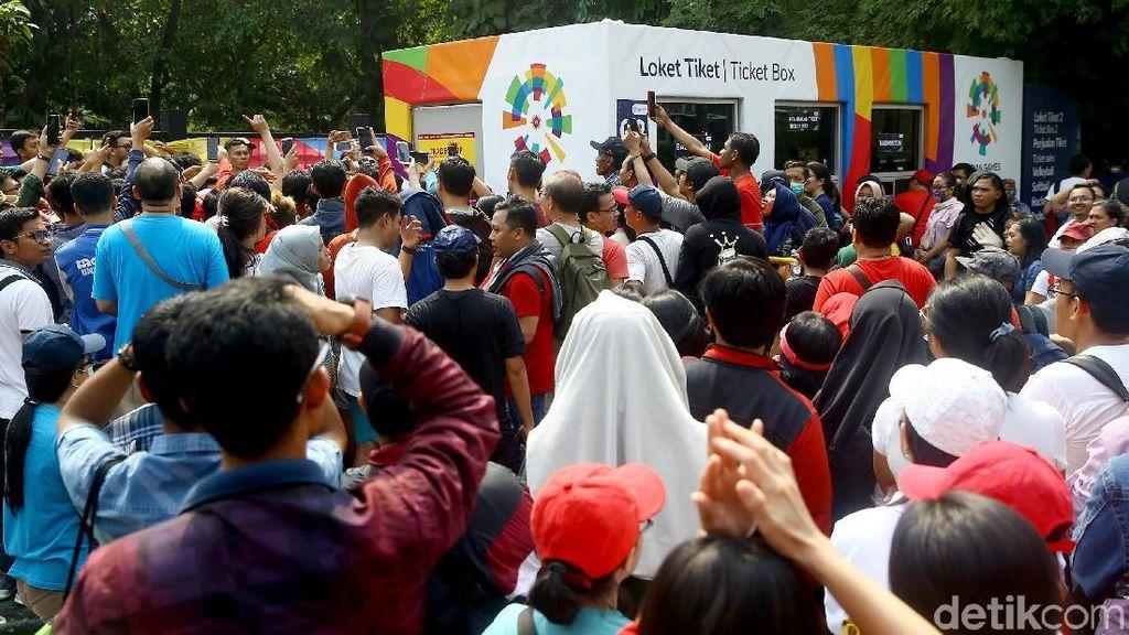 Kena, 24 Calo Tiket Asian Games di Stadion Patriot Bekasi Ditangkap