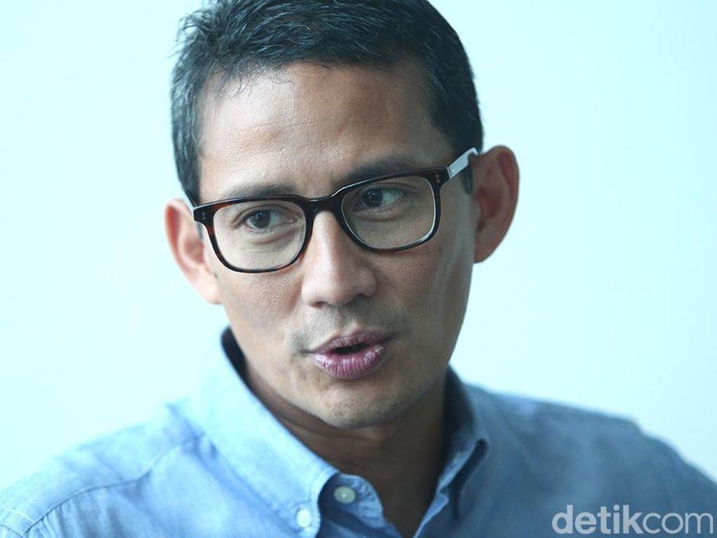 Soal Kebijakan Lockdown di RI, Sandiaga Uno: Jangan Berdebat