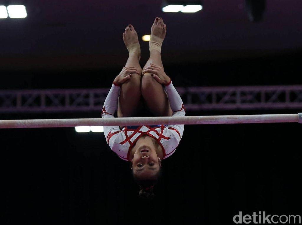 Tim Senam Putri Indonesia Gagal Raih Medali