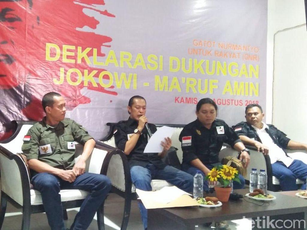 Gatot Nurmantyo Tak Jadi Capres, GNR Dukung Jokowi-Maruf Amin