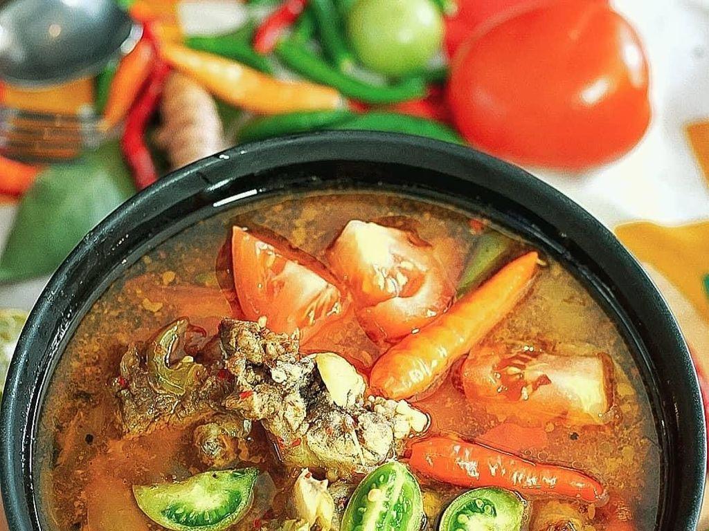 Slurpp, Segarnya Asem-asem Daging Punya Netizen Ini Bikin Ngiler!