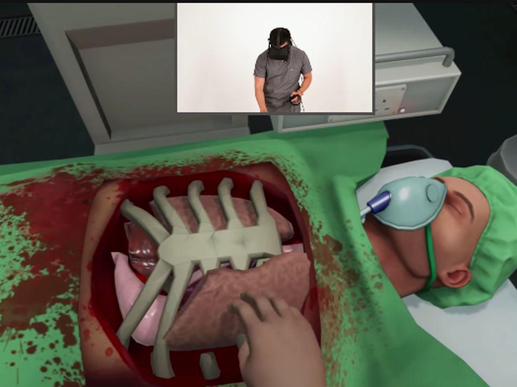 Foto: Begini Serunya Operasi Transplantasi Jantung dengan VR