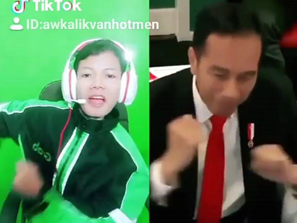 Dayung Sumbang 2 Medali, Ini Mereka yang Ikuti Goyang Dayung Jokowi