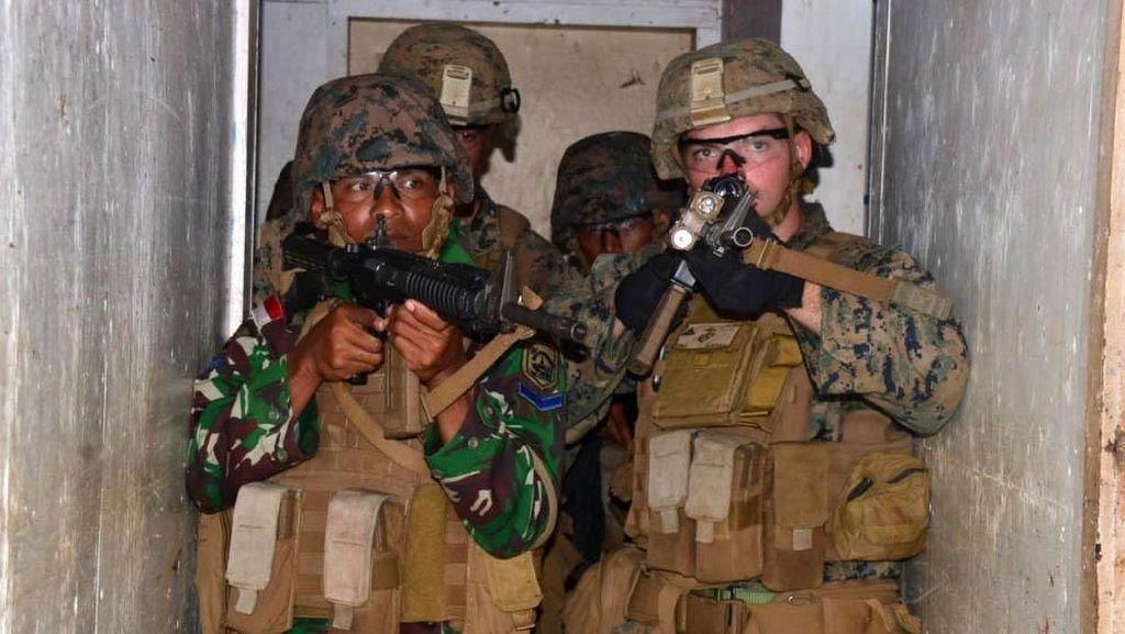 Marinir Indonesia dan AS Latihan Bersama di Hawaii