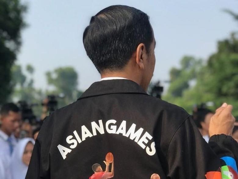 Jokowi Soal Bonus Asian Games: Dibayar Sebelum Keringat Atlet Kering