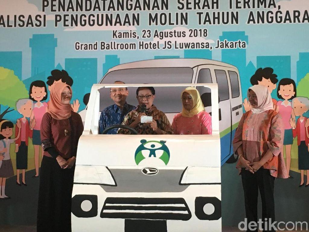 Menteri PPPA Berikan Mobil Perlindungan Perempuan ke 44 Daerah