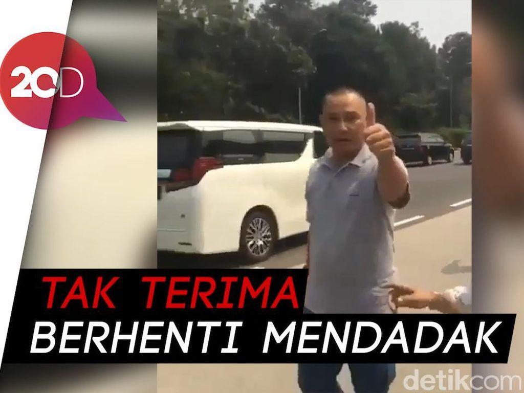 Video: Pengakuan Kakak Bocah Korban Pemukulan Pria Arogan di Tol