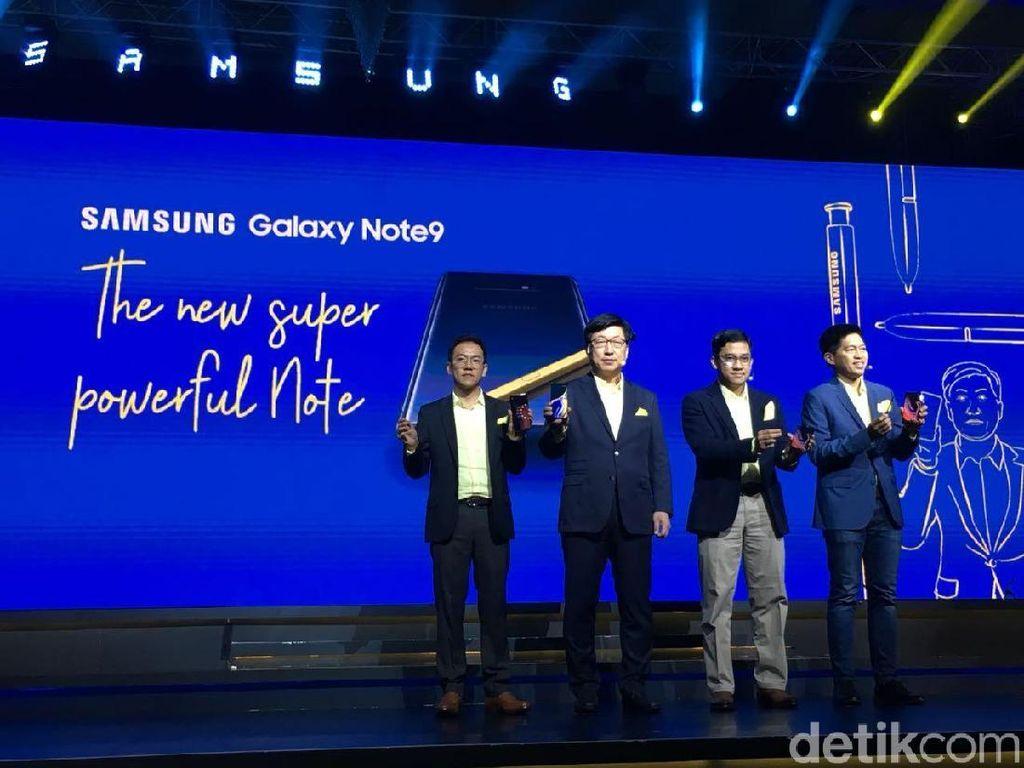 Galaxy Note 9 Mendarat di Indonesia, Mulai Jualan Besok
