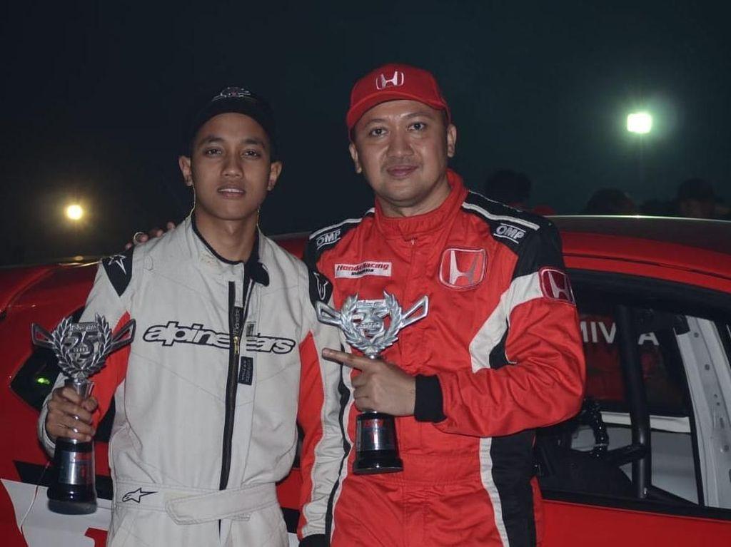 Alvin Bahar Juara Night Race ISSOM 2018 Sentul