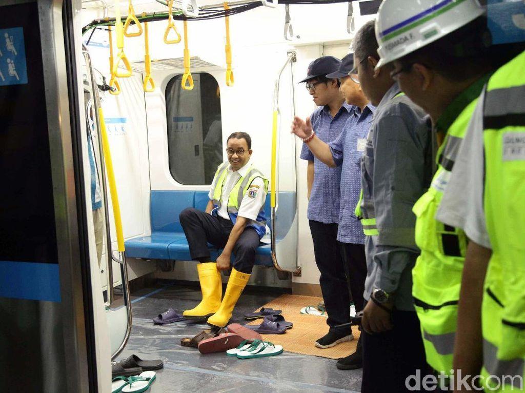 Anies Uji Coba MRT Jakarta