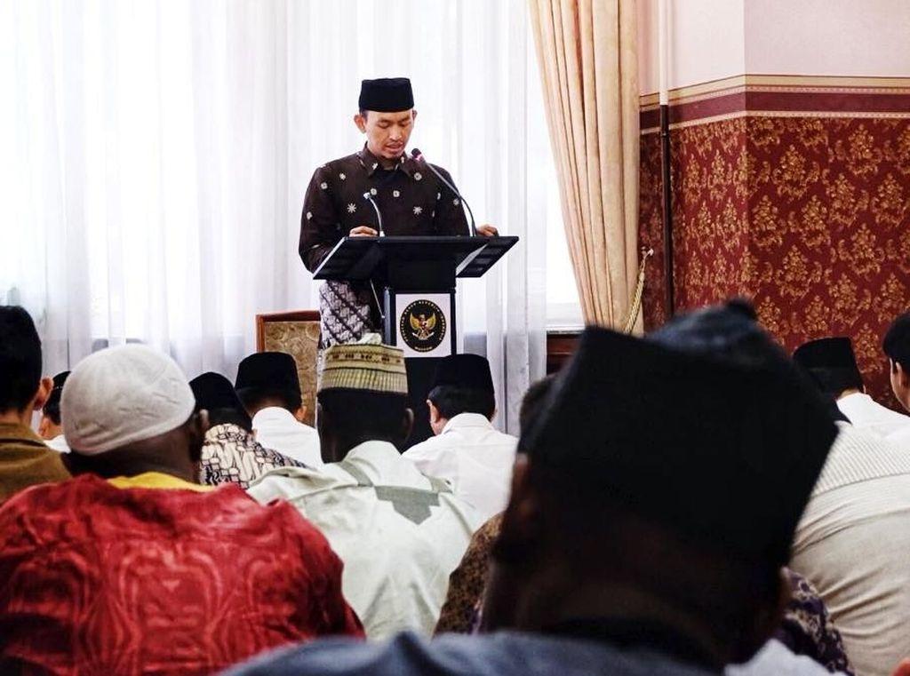 Cerita WNI Kumpul di KBRI Moskow Rayakan Idul Adha