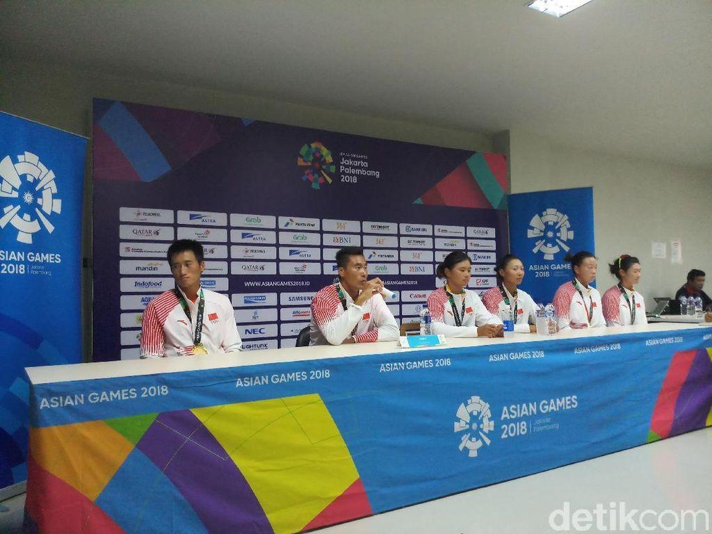 Ini Cara Atlet China Atasi Panasnya Palembang di Asian Games 2018