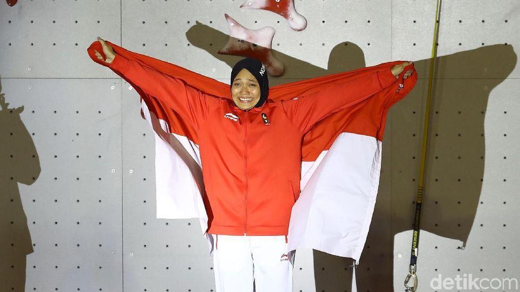 Air Mata Bahagia Aries Spiderwoman Susanti Raih Emas Asian Games