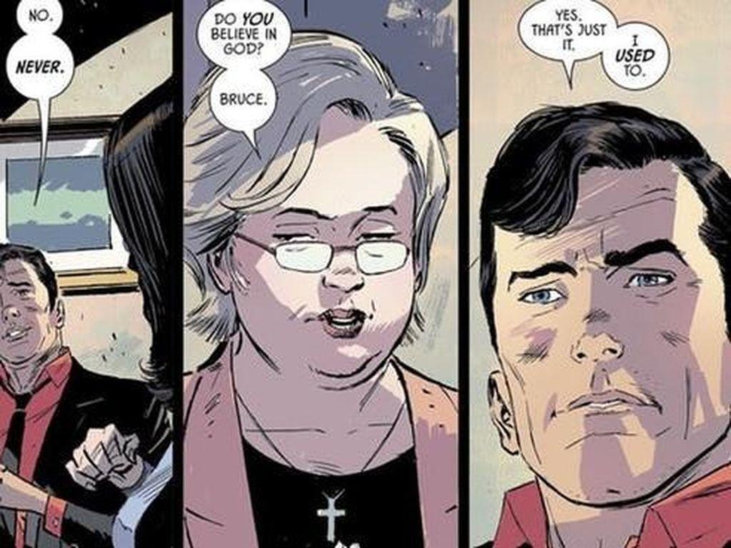 DC Comics Konfirmasi Kontroversi Batman Adalah Ateis