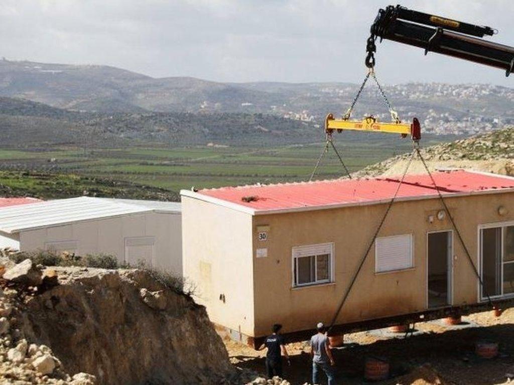 Israel Kembali Bangun Ratusan Rumah Warga Yahudi di Tepi Barat