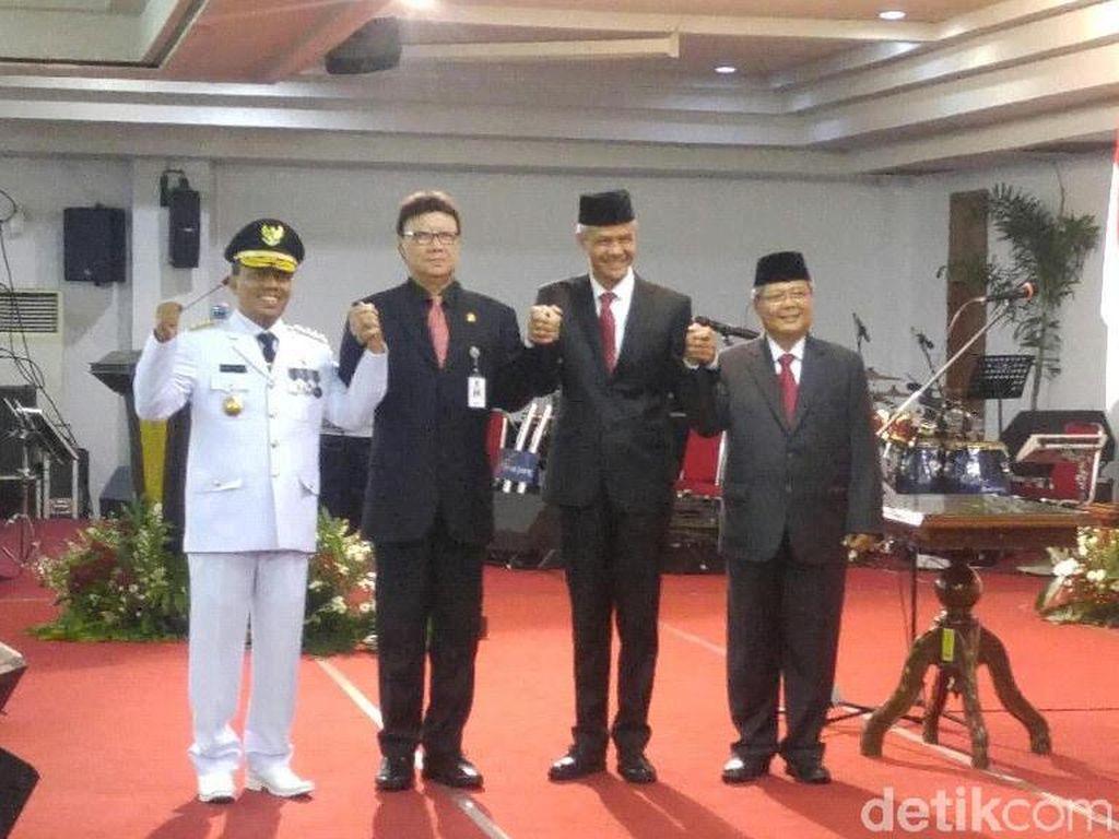 Masa Jabatan Ganjar Habis, Mendagri Lantik Pj Gubernur Jateng