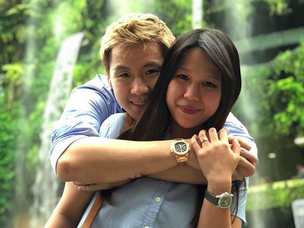 So Sweet! Potret Romantis Marcus Gideon dengan sang Istri, Agnes