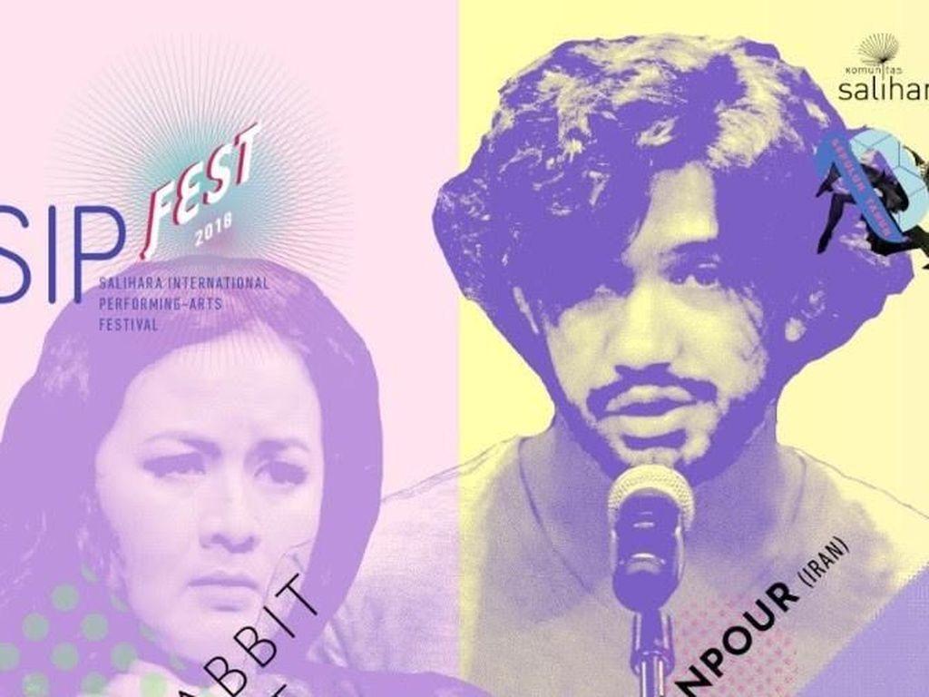 Reza Rahadian dan Sita Nursanti akan Pentas Tanpa Latihan di SIPFest
