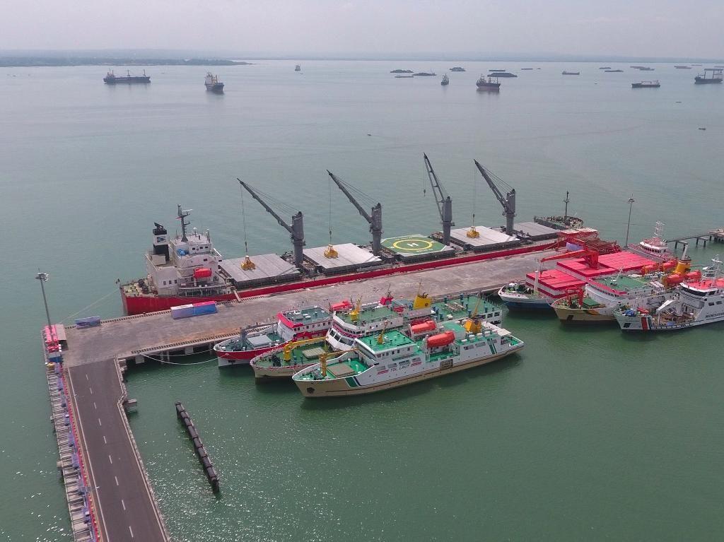 BJTI Port Anak Usaha Pelindo III Divestasi Saham BKMS