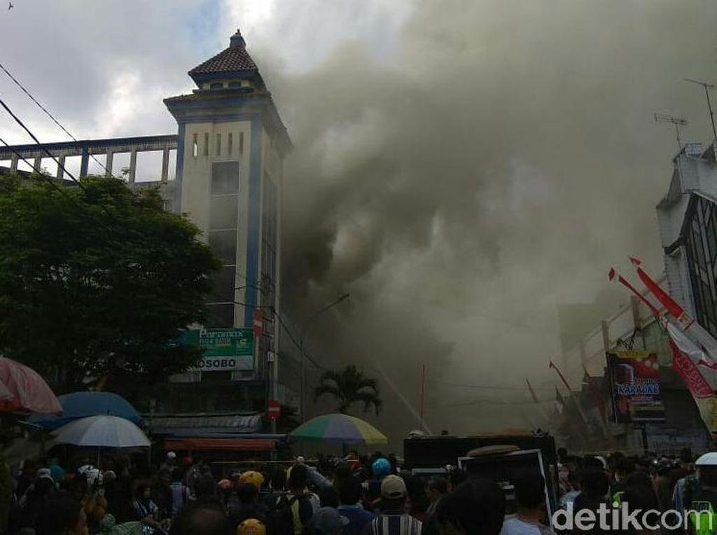 Pasar Induk Wonosobo Terbakar