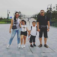 Cara Krisdayanti berikan angpao Lebaran untuk kedua anaknya/