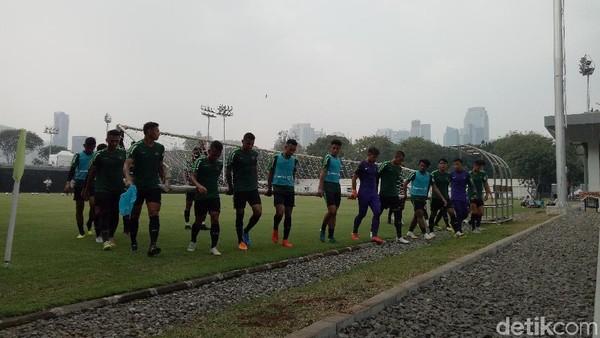 Indonesia vs UEA: Garuda Muda Latihan Adu Penalti
