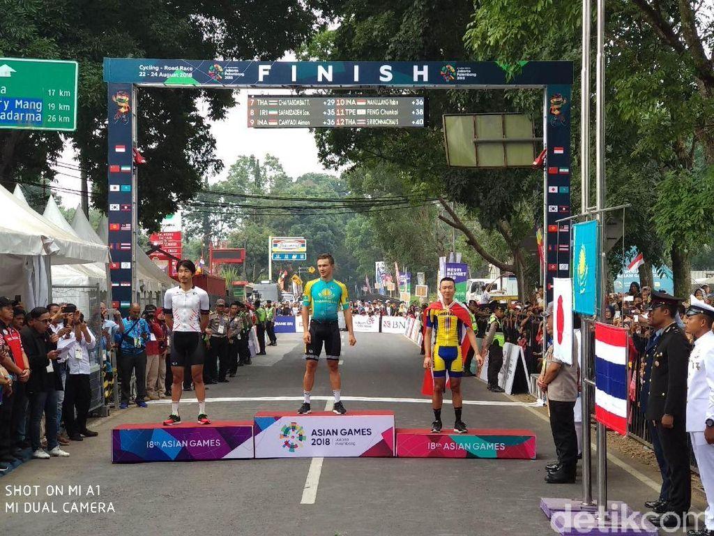 Indonesia Gagal Raih Medali di Balap Sepeda Jalan Raya Putra