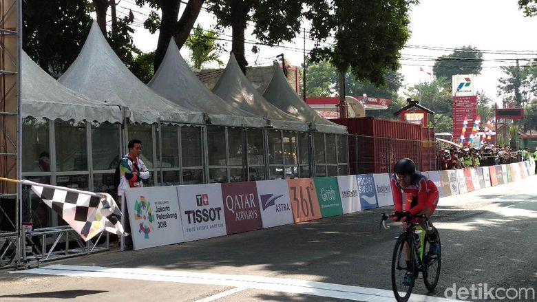 Yanthi Finis Kedelapan di Balap Sepeda Time Trial Putri