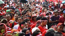 Video: Gemuruh Suporter Garuda Muda di Stadion Wibawa Mukti