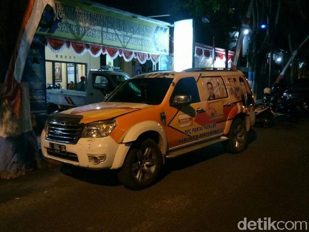 Lagi, Anggota DPRD Banyuwangi Terlibat Kecelakaan
