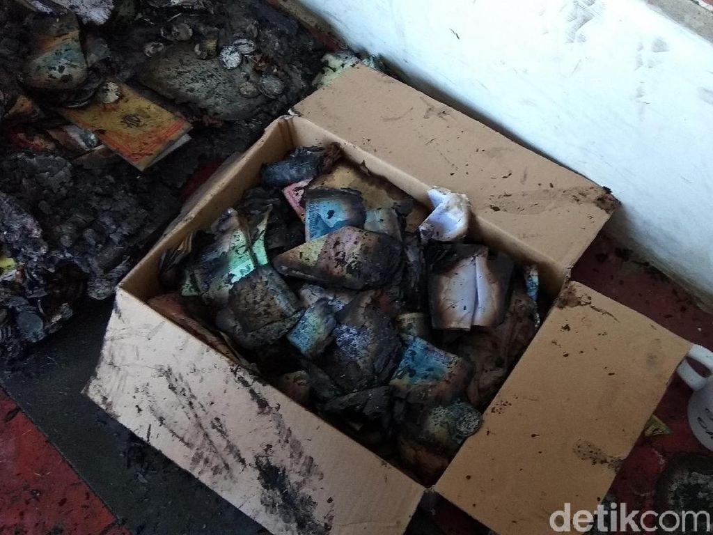 Uang Tunai Puluhan Juta di Ambarawa Ludes Terbakar