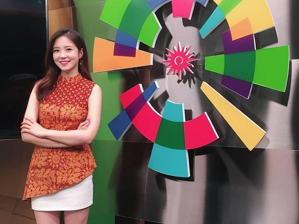 Liput Asian Games, Kecantikan Reporter Korea Ini Bikin Pria Susah Kedip