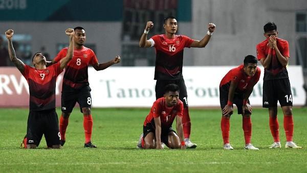 Memang Belum Rezekinya Timnas Indonesia U-23