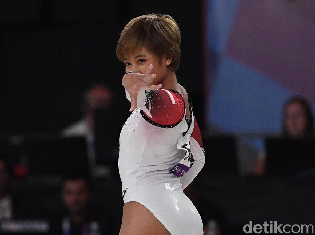 Rifda Irfanalutfi Sumbang Perak buat Indonesia di Asian Games 2018