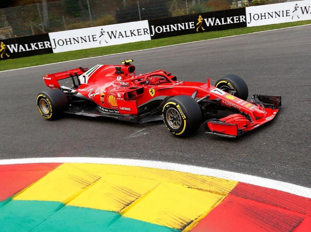 Ferrari Terdepan Lagi di Free Practice Belgia, Kini Giliran Raikkonen