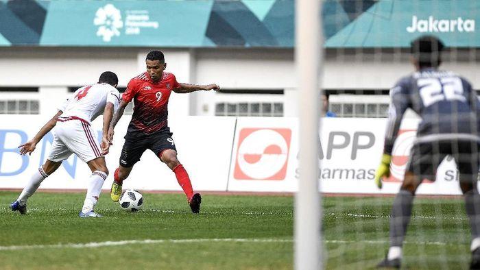 Indonesia kalah adu penalti dari Uni Emirat Arab. (Foto: Dhemas Reviyanto/ANTARA FOTO/INASGOC)