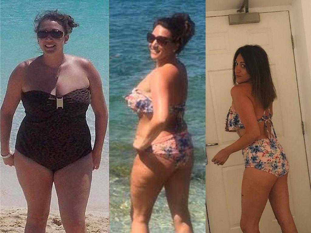 Inspiratif! Wanita Ini Turun Bobot 32 Kg Hanya Dalam Waktu Setahun