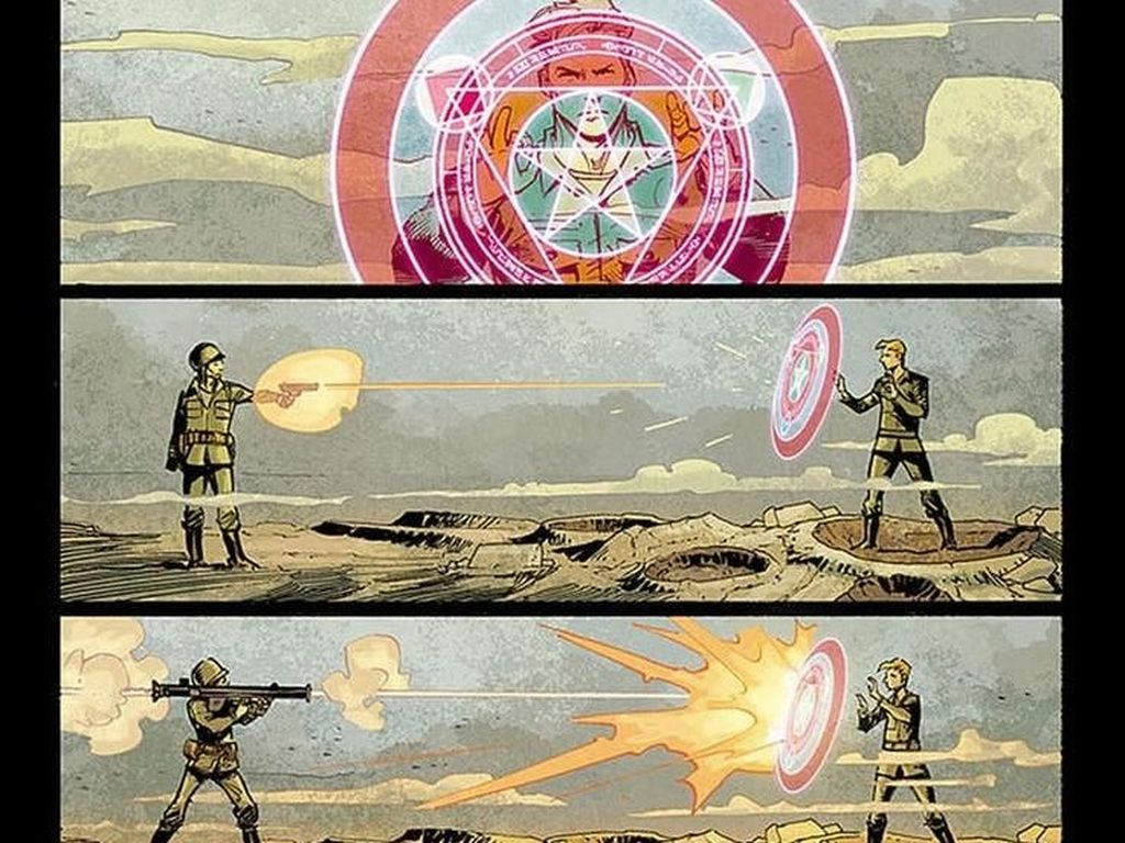 Perisai Captain America Ada Kekuatan Sihir Misterius