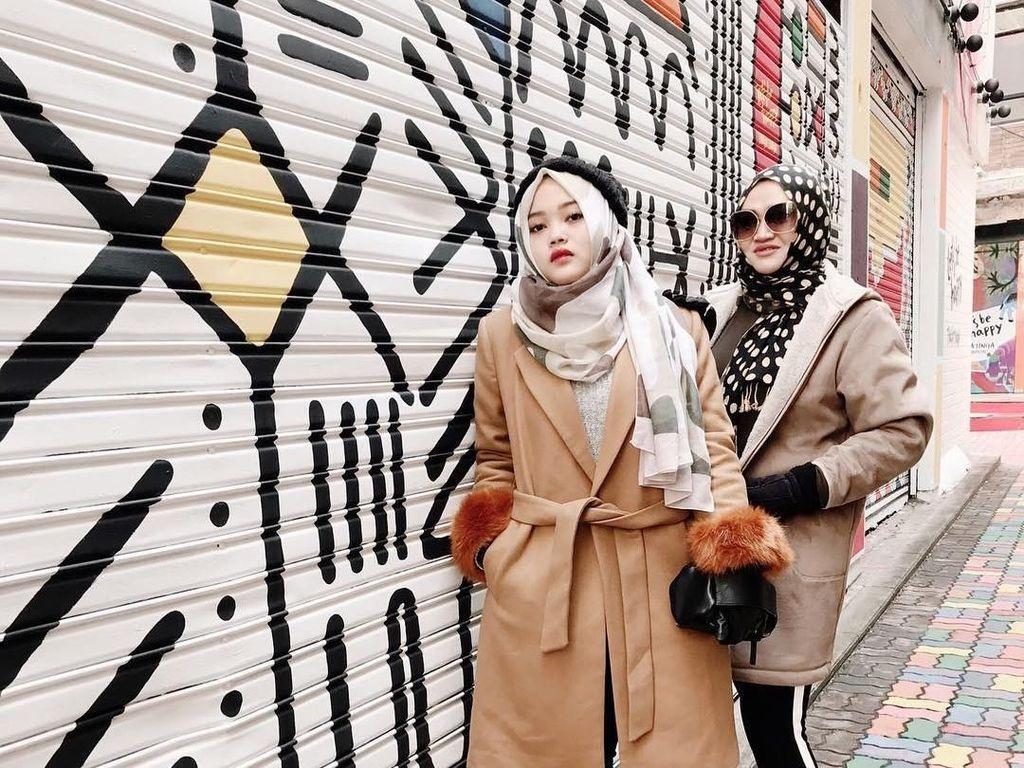 Adu Gaya Hijab, Anak Mandra dan Sule yang Beranjak Dewasa