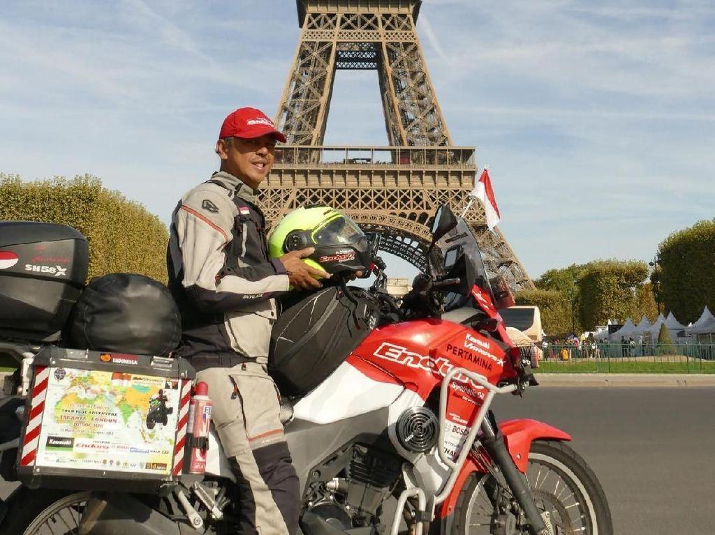 Motor yang Ditunggangi Anies Cocok untuk Keliling Dunia